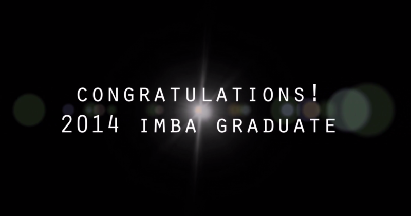 NCCU IMBA 2016 Graduation Ceremony_Graduation Film for 2014 Graduate